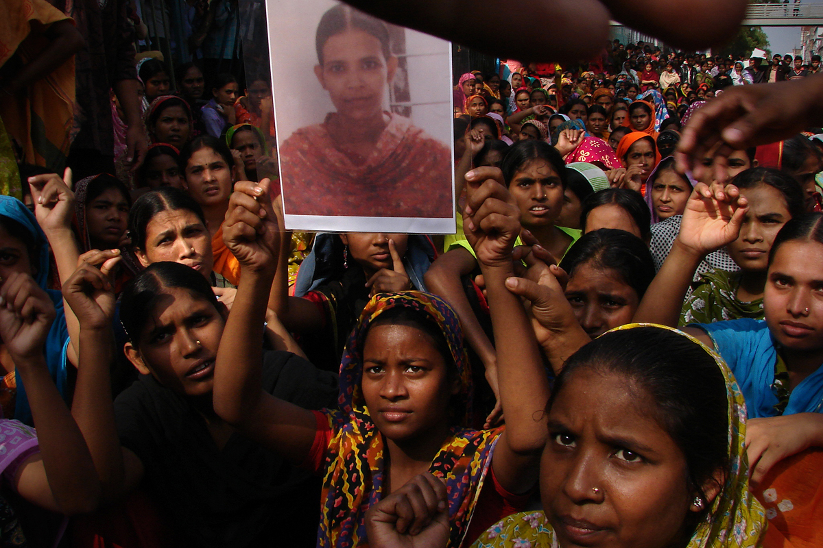 Life & struggle of garment workers